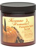 Keyano Manicure & Pedicure, Pumpkin Spice Scrub 10oz