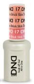DND Mood Gel - MC17 Skin Tone to Brick Skin