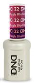 DND Mood Gel - MC22 Blushing to Purple Blush