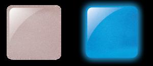 Glam & Glits Powder 1 oz - GLOW ACRYLIC - GL2004  MONO-CUTE-MATIC (SHIMMER)