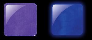 Glam & Glits Powder 1 oz - GLOW ACRYLIC - GL2023  ULTRA VIOLET (CREAM)