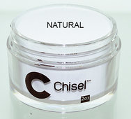 Chisel 2in1 Acrylic & Dipping 2 oz - Pink & White - NATURAL