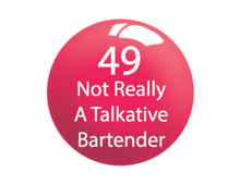 SNS Lacquer Matching 0.5 oz - #049 NOT REALLY A TALKATIVE BARTENDER