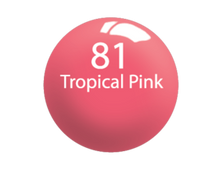 SNS Lacquer Matching 0.5 oz - #081 TROPICAL PINK