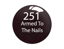 SNS Lacquer Matching .5oz, ARMED TO THE NAILS #251