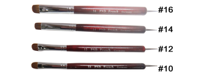 PND French Nail Brushes #8 to #16(Choose your size)