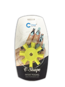 20% Off Chisel Nail Art - V Shape Edger