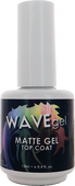 WaveGel Matte Top Coat S/O Gel .5 oz
