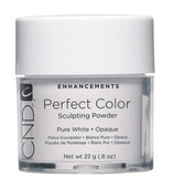 CND Perfect Color Sculpting Powder - Pure White Opaque 0.8 oz