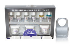 ANC Professional Nail Dip System Kit Combo with Container
