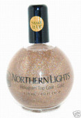 Northern Lights Hologram Top Coat-Gold 2.5 oz