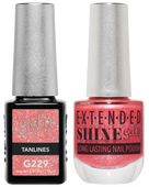 Gel II + Matching Extended Shine Polish, TANLINES #G229 - #ES229