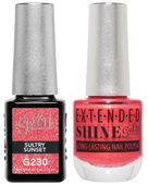 Gel II + Matching Extended Shine Polish, SULTRY SUNSET #G230 - #ES230