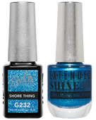 Gel II + Matching Extended Shine Polish, SHORE THING #G232 - #ES232