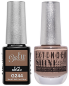 Gel II + Matching Extended Shine Polish, SUN KISSED #G244 - #ES244
