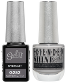 Gel II + Matching Extended Shine Polish, OVERCAST #G252 - #ES252