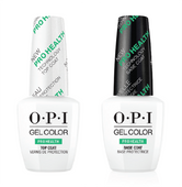 OPI GelColor, PROHEALTH BASE & TOP COAT DUO PACK .5oz