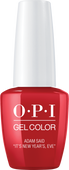 """OPI GelColor - Holiday Love  -  Adam said """"It's New Year's, Eve"""" - #HPJ09"""