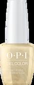 OPI GelColor - Holiday Love  -  Gift of Gold Never Gets Old - #HPJ12