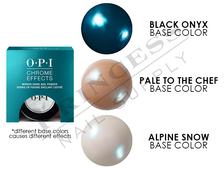 """OPI Chrome Powder, #CP004 - Blue """"Plate"""" Special 0.1oz - 3g"""
