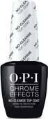 OPI Chrome Powder - #CPT30 - Chrome Effects No-Cleanse Gel Top Coat 0.5oz