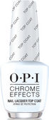 OPI Chrome Powder - #CPT31 - Chrome Effects Nail Lacquer Top Coat 0.5oz