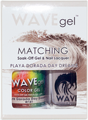 WaveGel Matching S/O Gel & Nail Lacquer - PLAYA DORADA DAY DREAMS .5oz W181
