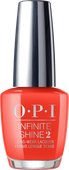 OPI Infinite Shine - #ISLL22 - A Red-vival City - Lisbon Collection