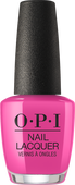 OPI Lacquer - #NLL19 - NO TURNING BACK FROM PINK STREET - Lisbon Collection .5 oz