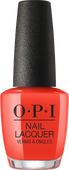 OPI Lacquer - #NLL22 - A RED-VIVAL CITY - Lisbon Collection .5 oz