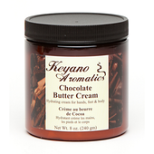 Keyano Manicure & Pedicure, Chocolate Butter Cream 8 oz.