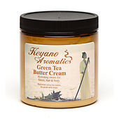 Keyano Manicure & Pedicure, Green Tea Butter Cream 8 oz.