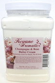 Keyano Manicure & Pedicure, Champagne & Rose  Butter Cream 64oz