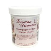Keyano Manicure & Pedicure, Champagne & Rose Moisture Mask 16oz