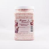 Keyano Manicure & Pedicure, Champagne & Rose Mineral Bath 64oz