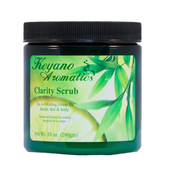 Keyano Manicure & Pedicure, Clarity Scrub 10 oz
