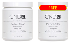 BUY 1 GET 1 FREE CND Perfect Color Sculpting Powder Natural Sheer 16 oz