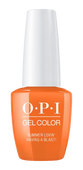 OPI GelColor - #GCG43 Summer Lovin' Having a Blast! - Grease Collection .5 oz