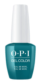 OPI GelColor - #GCG45 Teal Me More, Teal Me More - Grease Collection .5 oz