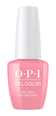 OPI GelColor - #GCG48 Pink Ladies Rule the School - Grease Collection .5 oz