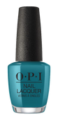 OPI Lacquer - #NLG45 - TEAL ME MORE, TEAL ME MORE - Grease Collection .5 oz