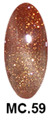 Cateye 3D Gel Polish - MOOD CHANGING - .5oz - Color #MC.59