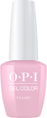 OPI GelColor - #GCH39A It's a Girl! .5 oz