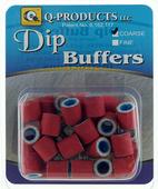Q-Products Dip Mini Buffers Coarse (40 per pack)