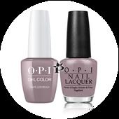 OPI Duo - GCA61A + NL A61 - TAUPE-LESS BEACH .5 oz