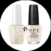 OPI Duo - HP J01 + HR J01 - SNOW GLAD I MET YOU .5 oz