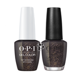 OPI Duo - HP J11 + HR J11 - TOP THE PACKAGE WITH A BEAU .5 oz
