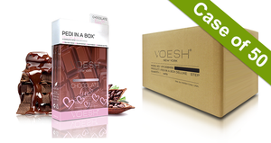 20% Off Voesh Case/50pks - Pedi in a Box - 4 Step Ultimate - Chocolate Love (VPC208CHO)