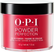 30% Off - OPI  Dipping Color Powders - #DPA70 Red Hot Rio 1.5 oz