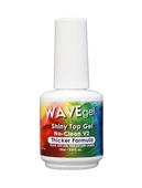 WaveGel Shiny No-Clean V2 Top Coat S/O Gel .5 oz